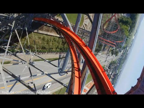 Storm Chaser Front Row (HD POV) Kentucky Kingdom