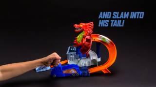 Hot Wheels Dragon Blast Play Set