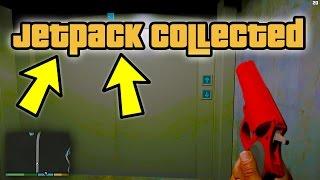 THE JETPACK IS IN GTA 5! (Jetpack Location Coordinates Found in GTA 5)