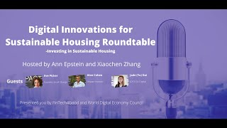 Investing Sustainable Housing Roundtable organized by FinTech4Good