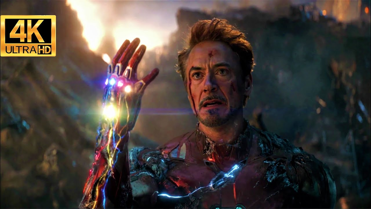 Download 'I am Inevitable' --'And I am Iron Man' Snap Scene    Avengers ENDGAME  Movie Clip 4K 60fps 2160p