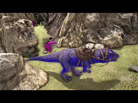 Server 203 GtG vs Fearless🔥🔥🔥(Ark Official PvP PS4)