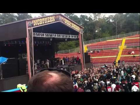 Texas In July Magnolia and It's Not My First Rodeo Live at Six Flags FestEvil 9/29/12