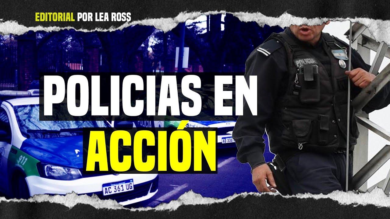 👨✈️ Policias en Acción