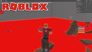 THE FLOOR IS LAVA!!! Roblox