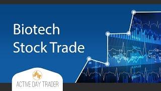 Biotech Stock TRADE - Stock Option Strategies, Biotech Trade, Option Trading futures trading
