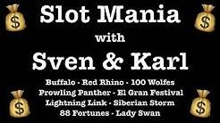 SLOT MANIA - 9 Machines - Different Games - Bonuses - Big Wins - Fun @ Holland Casino Venlo Pokie