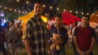 Spooky talks to 19th street at the festival   On My Block season 3 (720p60)