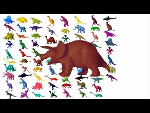 Counting to 100 with Dinosaurs - The Kids