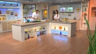 Culinart 2014 N° 09 : Quiche Aux épinards , Espadon Grillé Aux Légumes