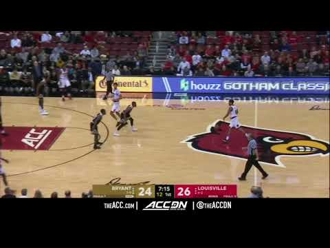 Bryant vs Louisville College Basketball Condensed Game 2017