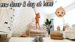 new baby room decor + yummy breakfast recipe!!