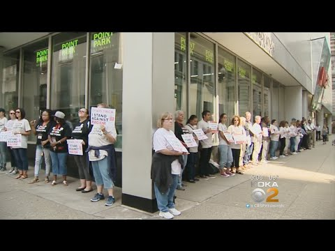 Pittsburghers Stand Against Racism, Hate At Downtown Gathering