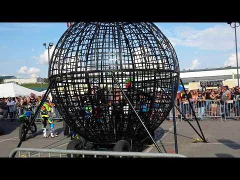 Stunt show Mountain fest 2016