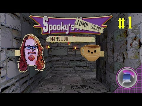 Spooky's Jumpscare Mansion | Part 1 | Krazy Koffee