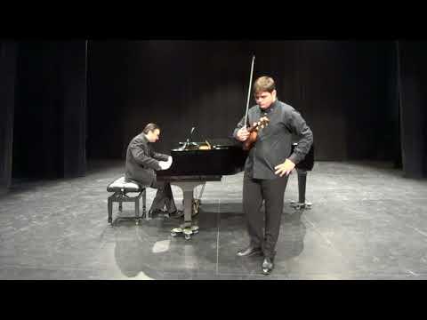 Carlos Rafael Martínez Arroyo. Concerto in D Major op.77 J.Brahms. I. Allegro non troppo.