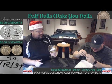 SATURDAY NIGHT SILVER HUNT & GIVEAWAYS!!!