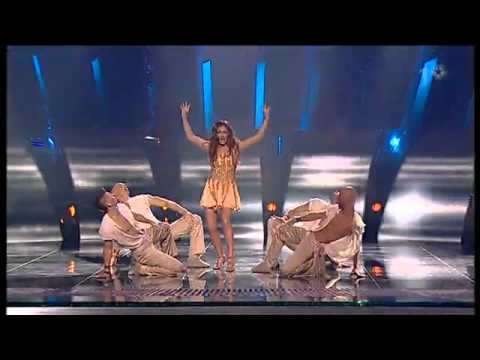 Elena Paparizou   My Number One Eurovision 2005, Kiev HD 16 9