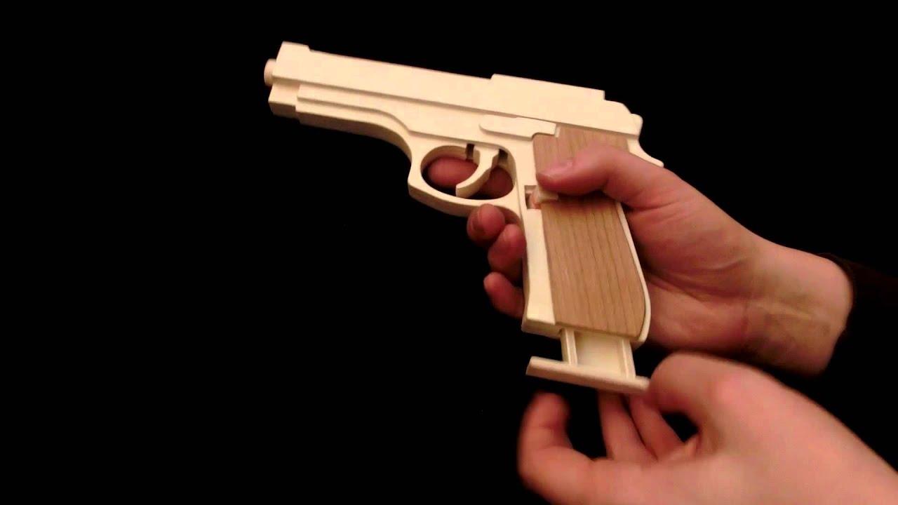 M9 Rubber Band Gun Youtube
