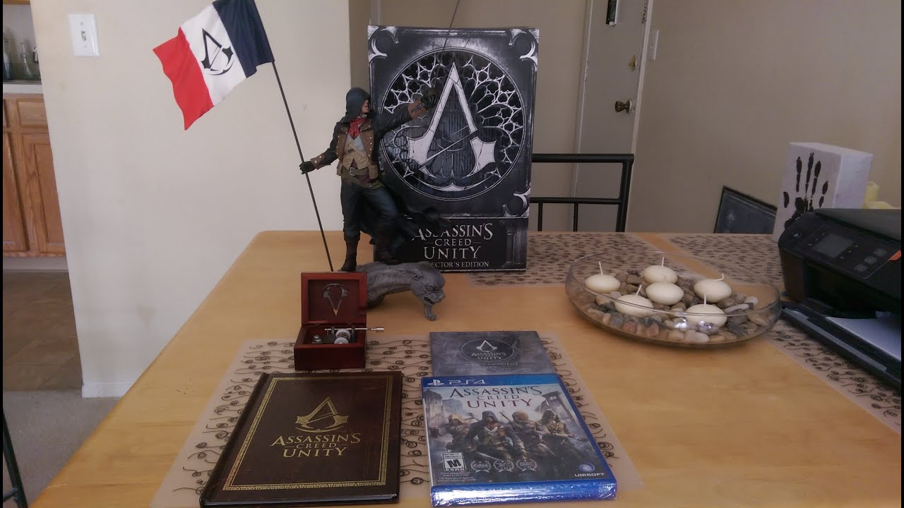 Assassin's Creed Unity Collector's Edition Unboxing PS4 ...