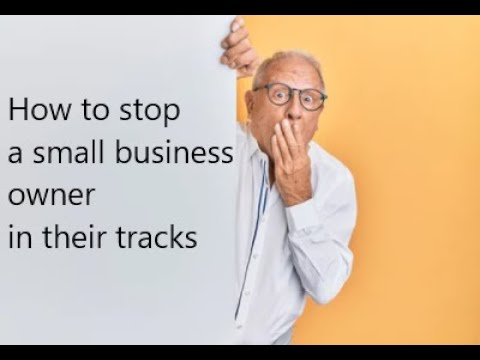 The question that stops small business owners in their tracks