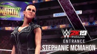 WWE 2K19 Stephanie McMahon Entrance | WWE 2K19 Entrances