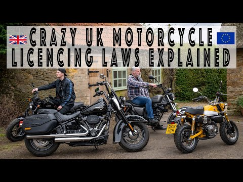 Why fewer young people ride motorcycles. The UK Licencing Laws explained and ripped apart!