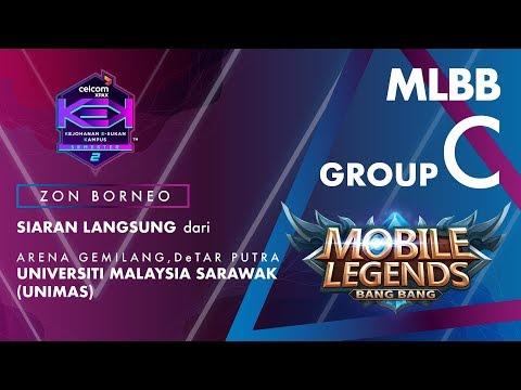 """MLBB CELCOM #XPAXKEK SEM 2 Group C -  Genesys Esports [UMSKAL] vs BBBB [UNIMAS]"""