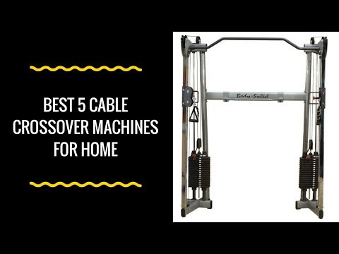 Top 5 Cable Crossover Machines For Your Home Gym