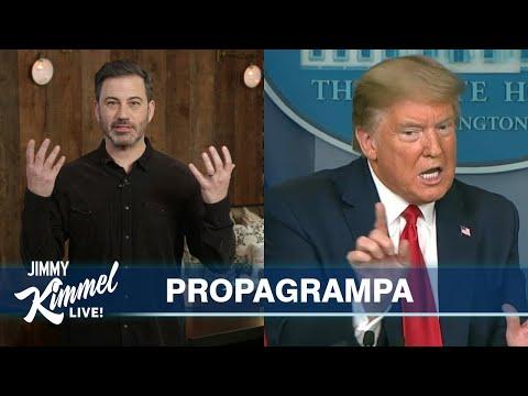 Jimmy Kimmel's Quarantine Monologue – Obama Endorses Biden & Trump Endorses Himself