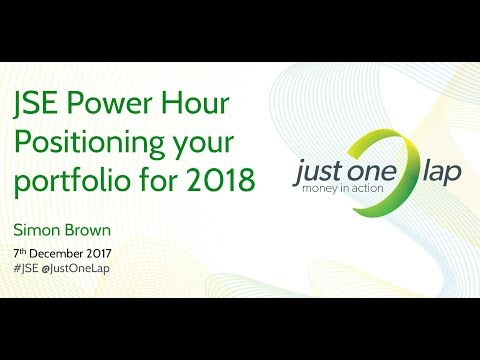 JSE Power Hour: Position your portfolio for 2018