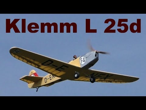 Klemm L 25d Krick Modelltechnik, Scale RC Airplane, JMM 2019