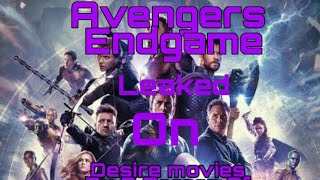 Avengers Endgame Leaked On Desire movies by a Moron Person Of China | 😠😡😠😡😠😡 | BBG