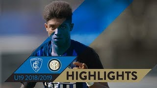 EMPOLI 1-1 INTER | PRIMAVERA HIGHLIGHTS | Salcedo equalizes on the 78th minute!