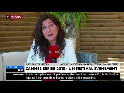 Cannes Series 2018. Sidse Babett Knudsen. 16th October 2017. C Fr