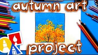 Simple Autumn Art Project
