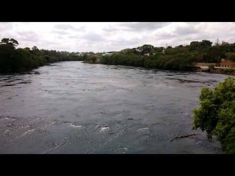 View of the Piracicaba River, in Piracicaba, Brazil