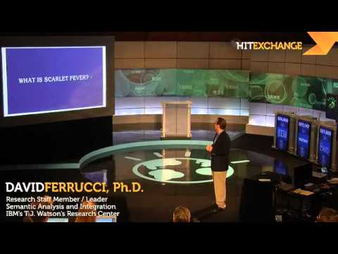 Dr. David Ferrucci: IBM's Watson Super  Computer, 1 of 4