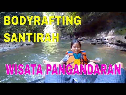 SANTIRAH PANGANDARAN | BODY RAFTING RIVER TUBING ALL IN ONE