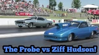 The Probe vs Ziff Hudson Procharged Camaro at No Prep Kings 2 Topeka Kansas thumbnail