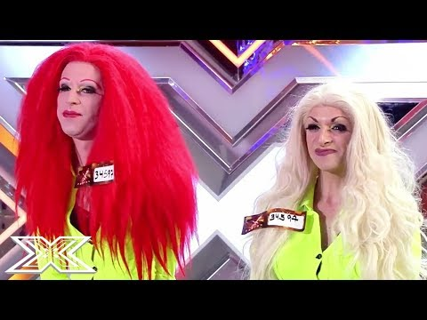 DAZZLING Drag act on X Factor Spain! | X Factor Global