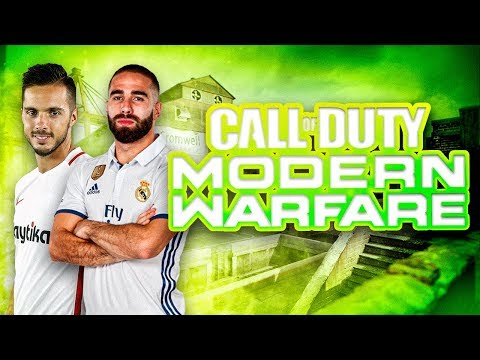 jugando-con-carvajal-y-sarabia-a-call-of-duty-modern-warfare