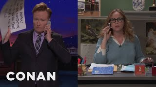 Conan Returns Another Joke  - CONAN on TBS
