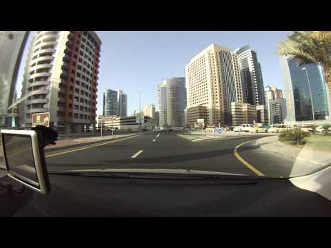 Driving Dubai, Dubai Internet City, UAE, 阿拉伯聯合酋長國