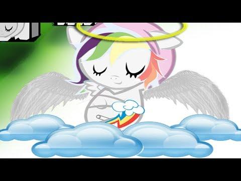 Карманные Пони маленькие ангелочки . Мультик игра для детей.