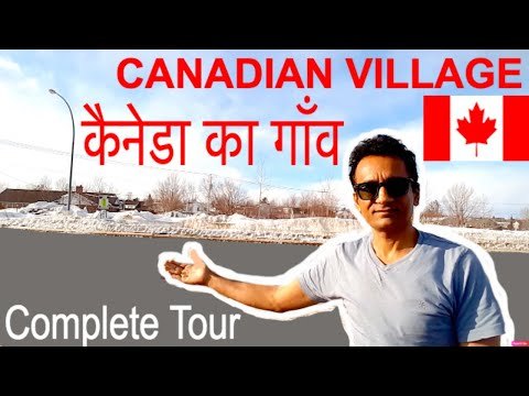 Canadian Village Life - Indian Vlogger In Canada