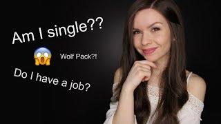 ASMR - Whispered Q&A // Am I Single? Career? WOLVES!?