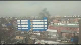 В Москве горит детский ТЦ