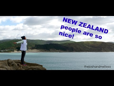 NEW ZEALAND people are so nice!