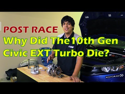 How to Prevent 10th Gen Civic EXT Turbo Blow Out On Extremely Hot Track Day